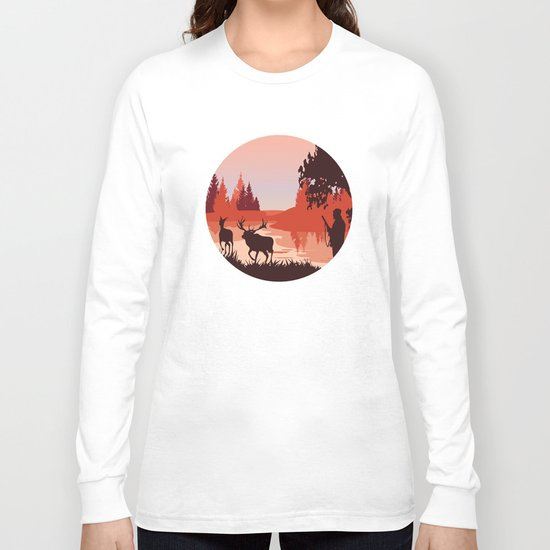 My Nature Collection No. 48 Long Sleeve T-shirt