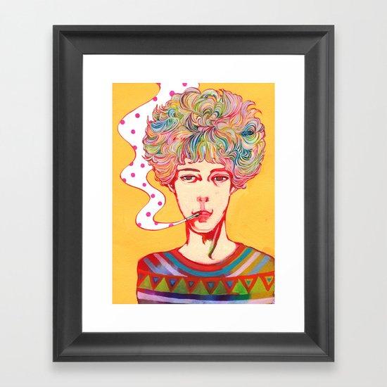 Oh No Ono Framed Art Print
