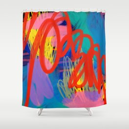 Hypno Abstract Shower Curtain