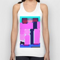 blur Tank Tops featuring Blur by allan redd