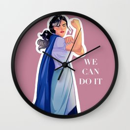 Linh Song- We Can Do It Wall Clock