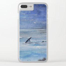 Shallow water Clear iPhone Case