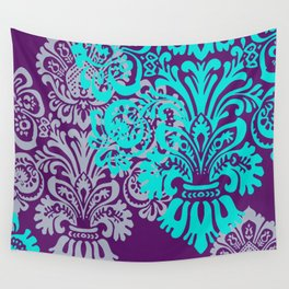 Damask in Bold Wall Tapestry