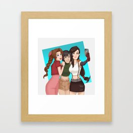 Selfie! Ft. The ladies of FF Framed Art Print