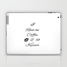 Coffee and Kisses Laptop & iPad Skin