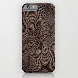 In leather iPhone Case