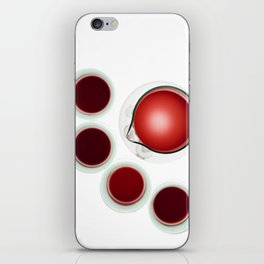 Wine Decanter And Glasses iPhone Skin