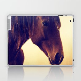 Western horse in porträit Laptop & iPad Skin