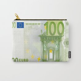 100 Euro Note Carry-All Pouch