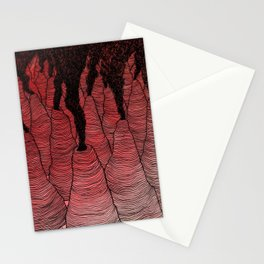 Perilous Pass Through the Peaks of Purgatohr Stationery Cards