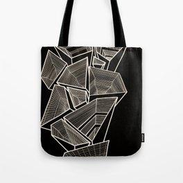 Pockets - Inverted Gold Tote Bag