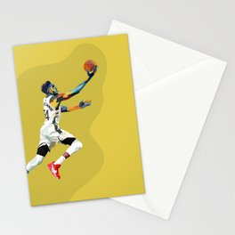 Giannis the Greek Freak Basketball Superstar Art Stationery Cards