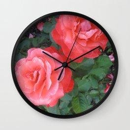 Sister Beauties Wall Clock