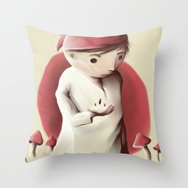 Jimmy and the sleeping pills nigthmare Throw Pillow