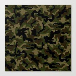 Camouflage Art3 Canvas Print