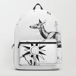All that things you see are purely an illusion; don't take God so serious, please. Backpack