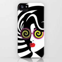 Hypnotize me iPhone Case