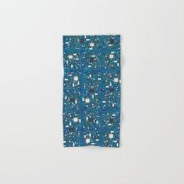 Blue tech Hand & Bath Towel
