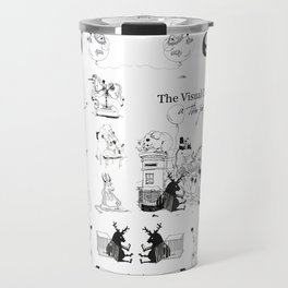 """The Visual Cosmos of This & That"" Travel Mug"