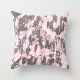 Abstract Sixteen Throw Pillow