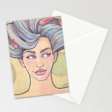Tattooed Mermaid 7 Stationery Cards