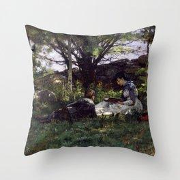 T. C. Steele - A June Idyl Throw Pillow