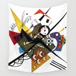 Kandinsky Sur Blanc, 1923 Wall Tapestry