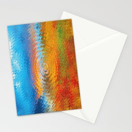 colorful vibrations Stationery Cards
