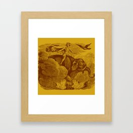 The Occult Golden Elephant Framed Art Print