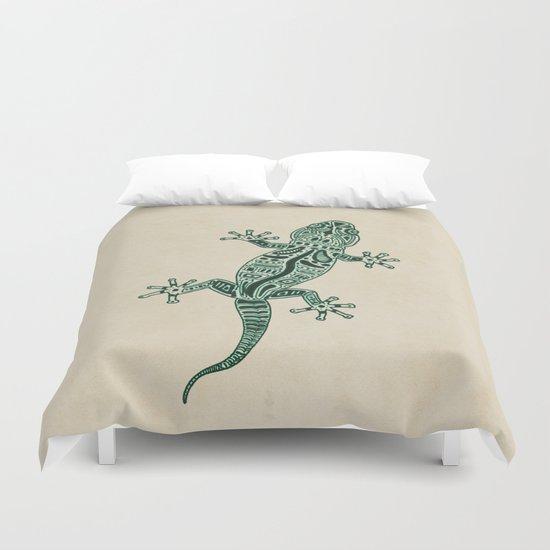Ornate Lizard Duvet Cover