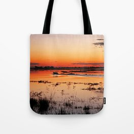 Evening in Africa Tote Bag