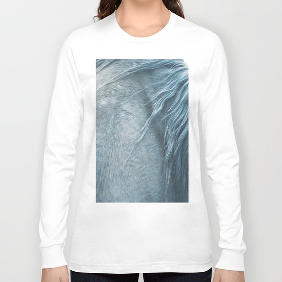 Horse mane - fine art print n°3 Long Sleeve T-shirt