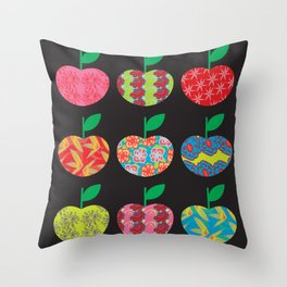 The Apples Throw Pillow