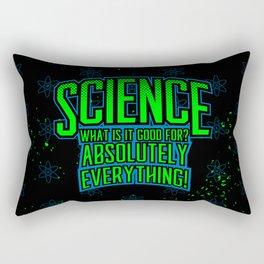 Science is Good Rectangular Pillow
