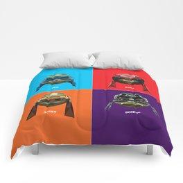 TURTLE POWER Comforters