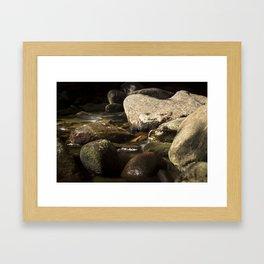 Morning Along Bear River Framed Art Print