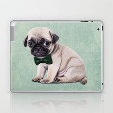 Angry Pug Laptop & iPad Skin
