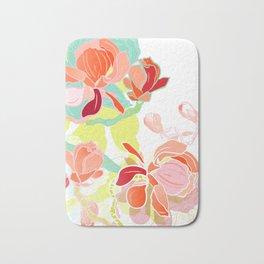 spring magnolia Bath Mat