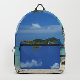 Bora Bora Palm Tree Backpack