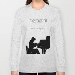 Glenn Gould, Thirty two short films about Glenn Gould,  François Girard, music poster, piano design Long Sleeve T-shirt