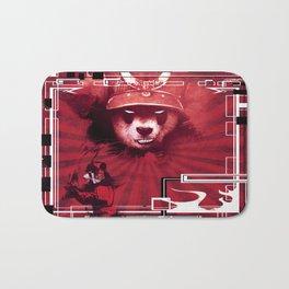 Red Ronin Panda 2 Bath Mat