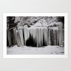 Snow Cave Art Print