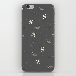Pisces Pattern iPhone Skin
