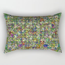 Jigsaw Junkie Mesh Rectangular Pillow