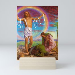 12,000pixel-500dpi - William Holman Hunt - Christ And The Two Marys - Digital Remastered Edition Mini Art Print