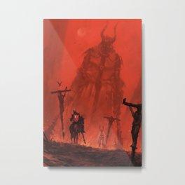 Ritterbruder Metal Print