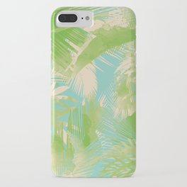 Tropical  turquoise iPhone Case