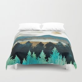 Forest Mist Duvet Cover