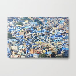view of Jodhpur, India Metal Print