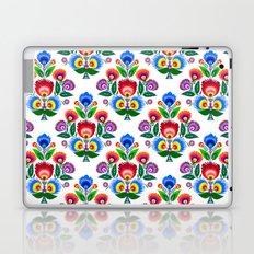 folk flowers ornament  Laptop & iPad Skin